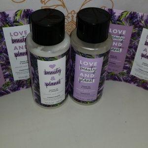 Bundle of Beaty & Planet shampoo & conditioner